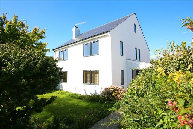 Thumbnail Detached house for sale in Anscombe Close, West Worthing, West Sussex