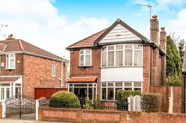 Thumbnail Detached house for sale in Hurstville Road, Chorlton, Manchester, Greater Manchester