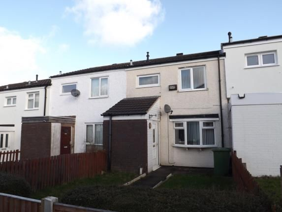 Thumbnail Terraced house for sale in Durham Croft, Chelmsley Wood, Birmingham, West Midlands