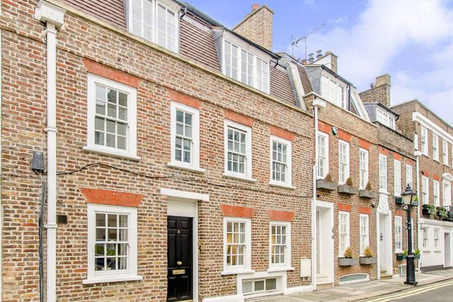 Thumbnail Terraced house for sale in Fairholt Street, Knightsbridge