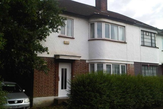 Thumbnail Semi-detached house to rent in St. Julians Farm Road, London