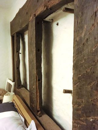 Exposed Timbers To Bedroom