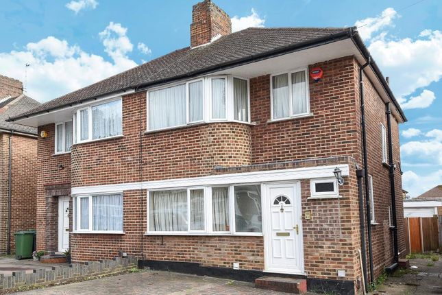 Thumbnail Semi-detached house for sale in Wychwood Close, Edgware