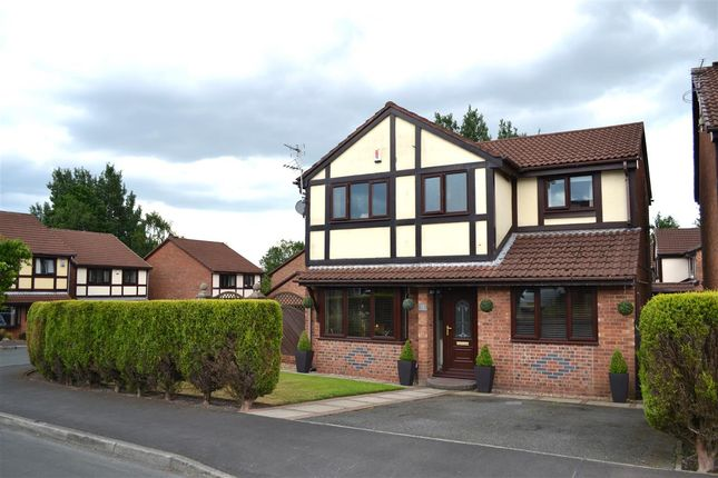Thumbnail Detached house for sale in Heathlea, Hindley Green, Wigan