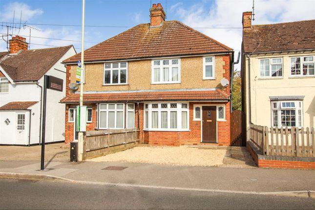 Thumbnail Semi-detached house to rent in Stanbridge Road, Leighton Buzzard