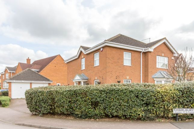 Thumbnail Detached house for sale in Charlbury Close, Wellingborough