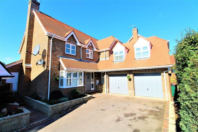 Thumbnail Detached house for sale in Bancroft Road, Maidenbower, Crawley, West Sussex.