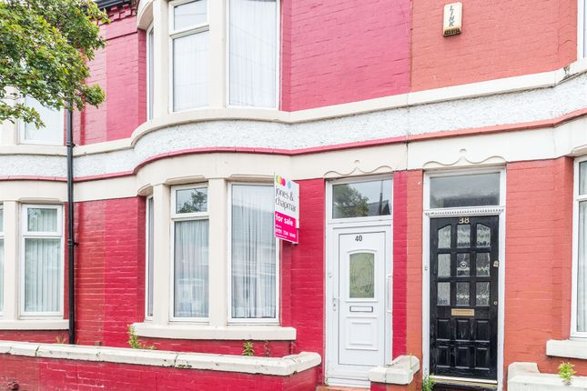 Thumbnail Terraced house for sale in Rathbone Road, Wavertree, Liverpool