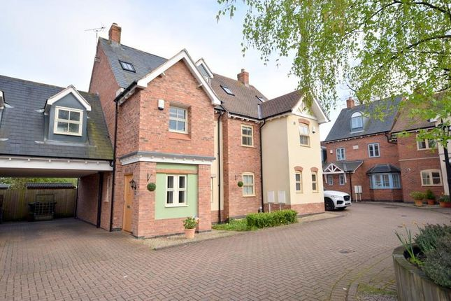 Thumbnail Town house for sale in Lambkin Close, Quorn, Loughborough