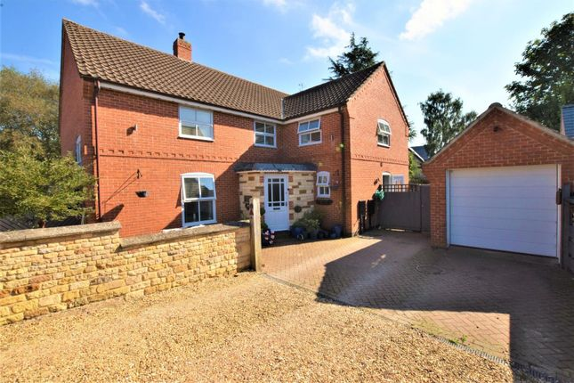 Thumbnail Detached house for sale in Lawrence Close, Market Overton, Oakham