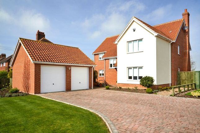 Thumbnail Detached house for sale in Vicarage Road, Wingfield, Diss