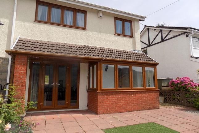Thumbnail Semi-detached house for sale in St. Marys Close, Treherbert, Treorchy, Rhondda, Cynon, Taff.