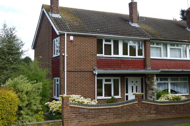 Thumbnail End terrace house for sale in Roselands Avenue, Hoddesdon