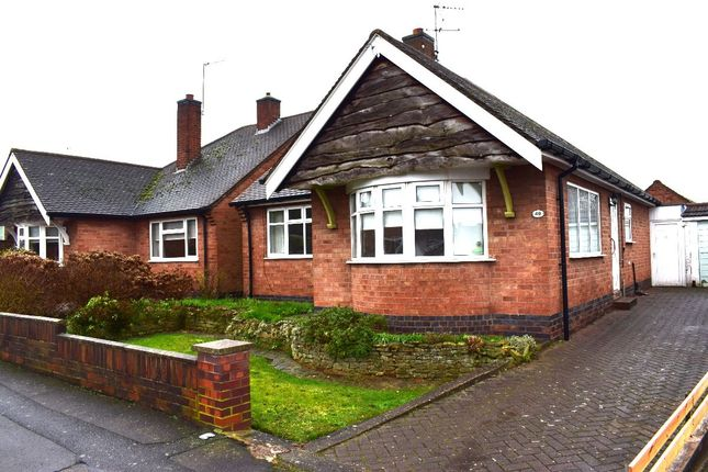 Thumbnail Bungalow for sale in Castlegate Avenue, Birstall, Leicester