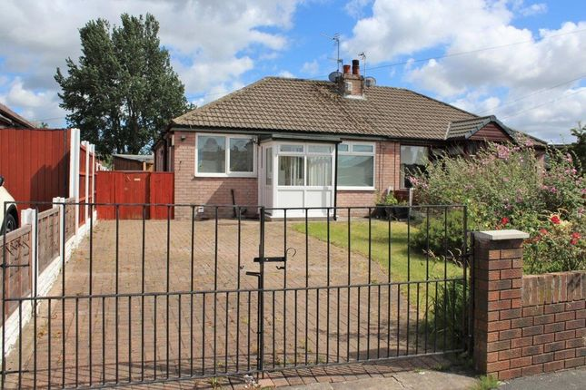 Thumbnail Semi-detached bungalow for sale in Wellfield Road, Hindley Green, Wigan