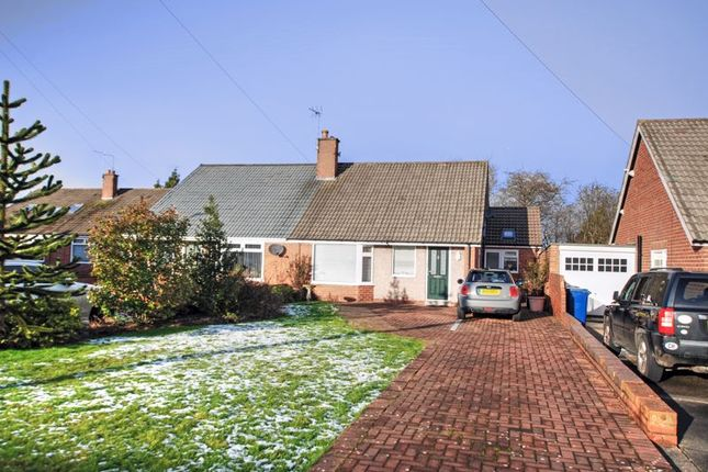 2 bed semi-detached bungalow for sale in Rothbury Avenue, Gosforth, Newcastle Upon Tyne NE3