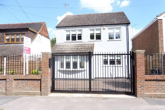 Thumbnail Detached house to rent in Ongar Road, Kelvedon Hatch, Brentwood