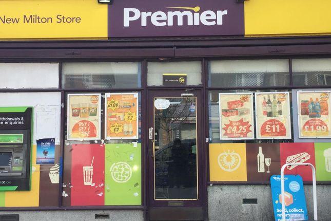 Retail premises for sale in New Milton, Hampshire
