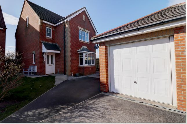 Thumbnail Detached house for sale in Ovington Close, Templetown, Consett