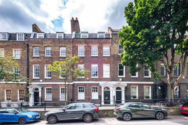 Thumbnail Terraced house for sale in Cross Street, London