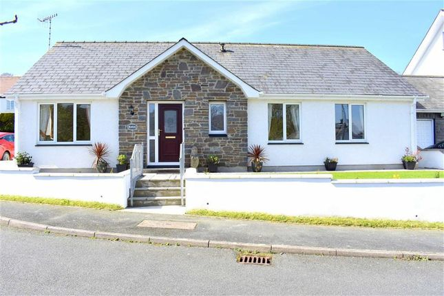 Thumbnail Detached bungalow for sale in Maes Y Meillion, Aberaeron, Ceredigion