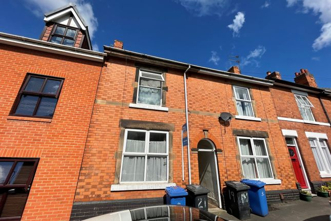 1 bed terraced house to rent in Longford Street, Derby DE22