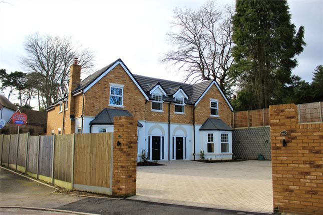Thumbnail Semi-detached house for sale in 12A Calvin Close, Camberley, Surrey