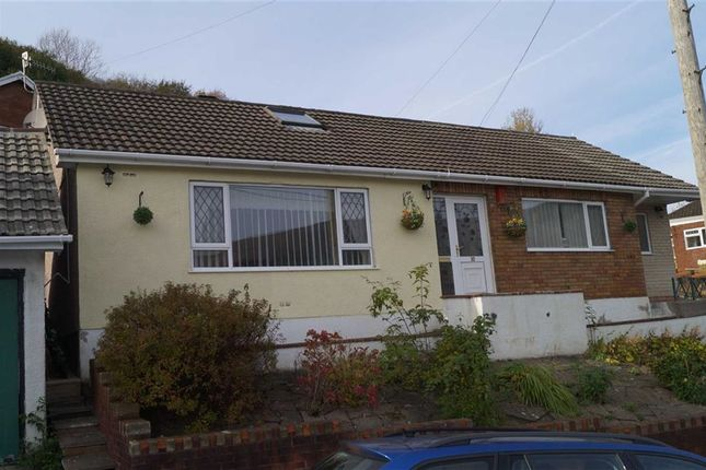 Thumbnail Detached bungalow for sale in Tanybryn, Penrhiwceiber, Mountain Ash