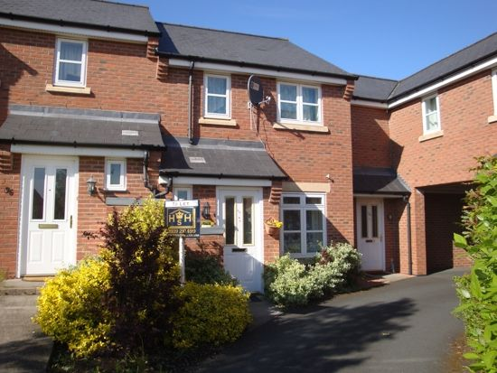 Thumbnail Town house to rent in Beddow Close, Shrewsbury