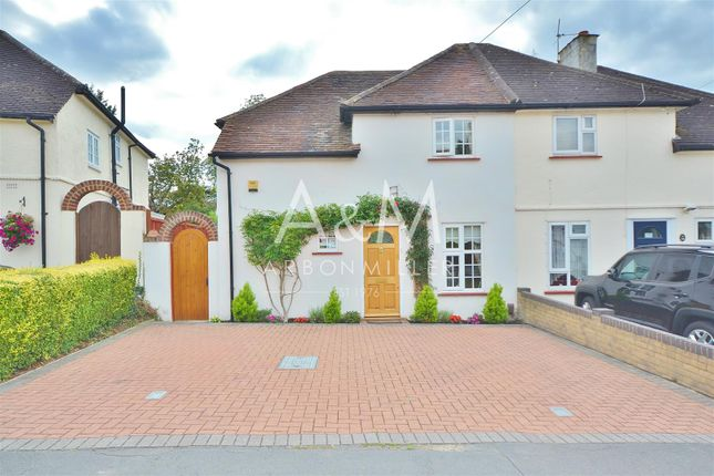 Thumbnail Semi-detached house for sale in Forest Avenue, Chigwell