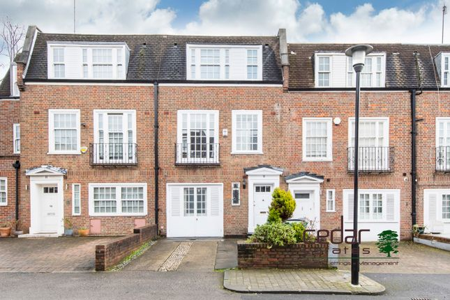 Thumbnail Mews house to rent in Marston Close, London