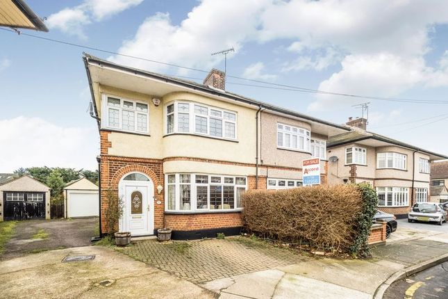 Thumbnail Semi-detached house for sale in Eyre Close, Gidea Park, Romford