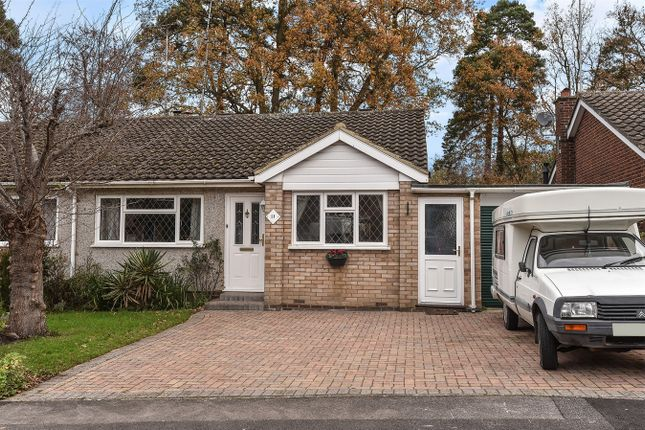 Thumbnail Semi-detached bungalow for sale in Pensford Close, Crowthorne, Berkshire