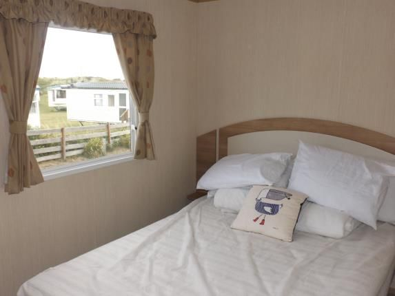 Bedroom One of Perran Sands Holiday Park, Perranporth, Cornwall TR6