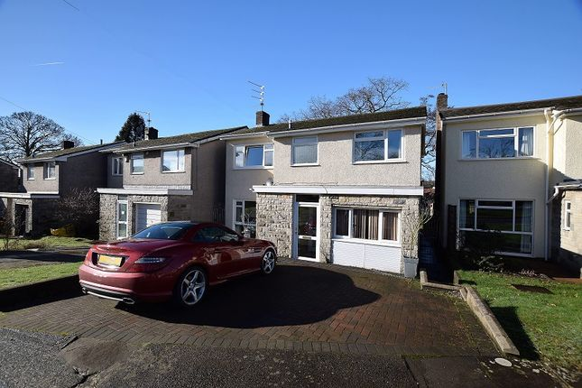 Thumbnail Detached house for sale in Clos Brynderi, Rhiwbina, Cardiff.