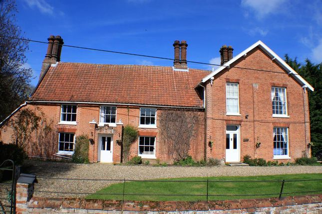 Thumbnail Detached house for sale in Barondole Lane, Topcroft, Bungay