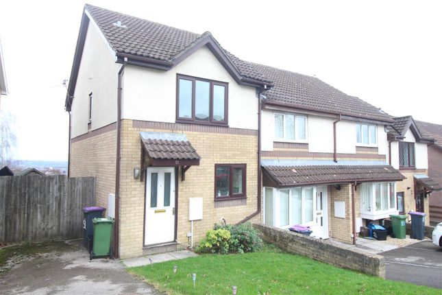 Thumbnail Terraced house for sale in Heather Court, Ty Canol, Cwmbran