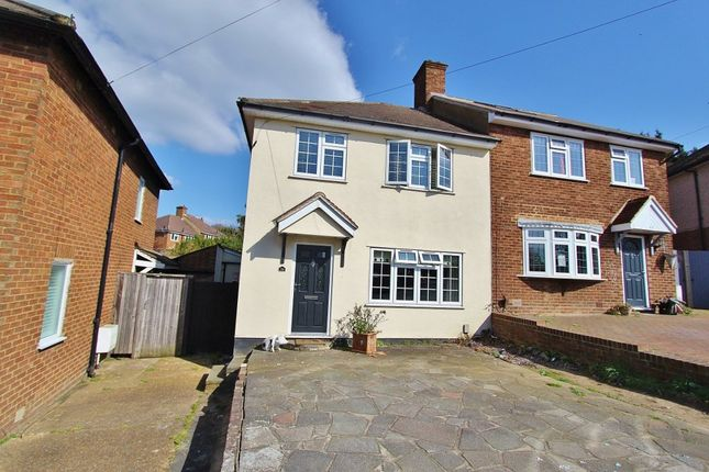 Thumbnail Semi-detached house for sale in Prestwood Drive, Romford