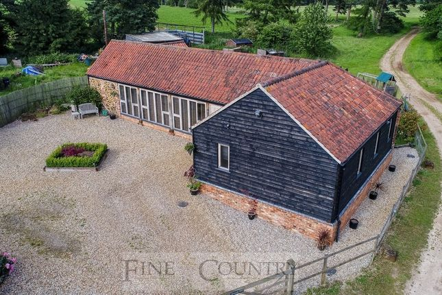 Thumbnail Barn conversion for sale in Sandy Lane, South Wootton, King's Lynn