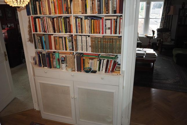 Built In Bookshelfs In The Entrance Hall