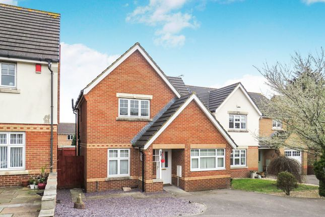 Thumbnail Detached house for sale in Carn Yr Ebol, Barry