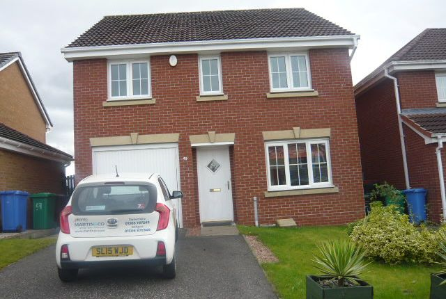 Thumbnail Detached house to rent in Petrel Way, Dunfermline