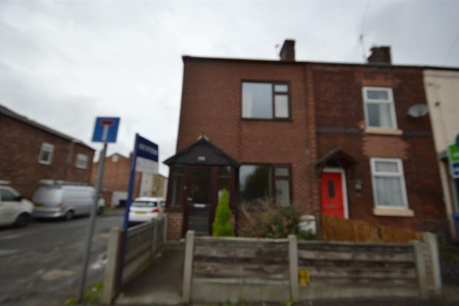 Thumbnail End terrace house to rent in Moorside Road, Swinton, Manchester