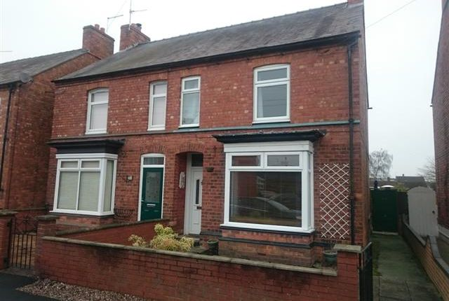 Thumbnail Semi-detached house for sale in Station Road, Wem