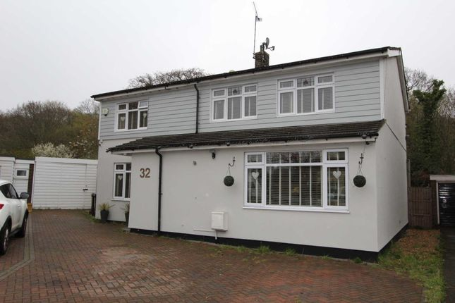 Thumbnail Detached house for sale in Prittle Close, Benfleet
