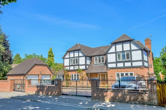 Thumbnail Detached house for sale in Gorse Ride North, Finchampstead, Wokingham