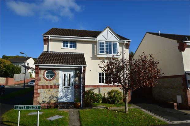 Thumbnail Detached house for sale in Little Close, Kingsteignton, Newton Abbot, Devon.