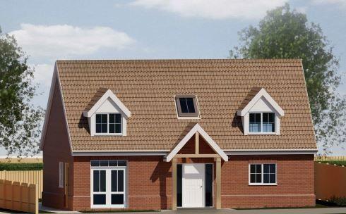 Thumbnail Bungalow for sale in Whatfiled Road, Elmsett, Ipswich, Suffolk
