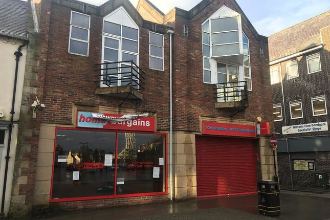 Thumbnail Retail premises to let in Bishop Auckland, County Durham
