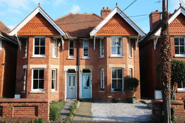 Thumbnail Semi-detached house for sale in Ormond Road, Wantage